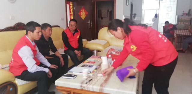 让党徽闪耀邻里心间新平锦秀社区红色物业管理正式启动